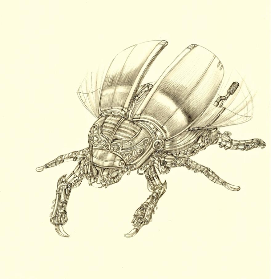 escarabajo mecanico