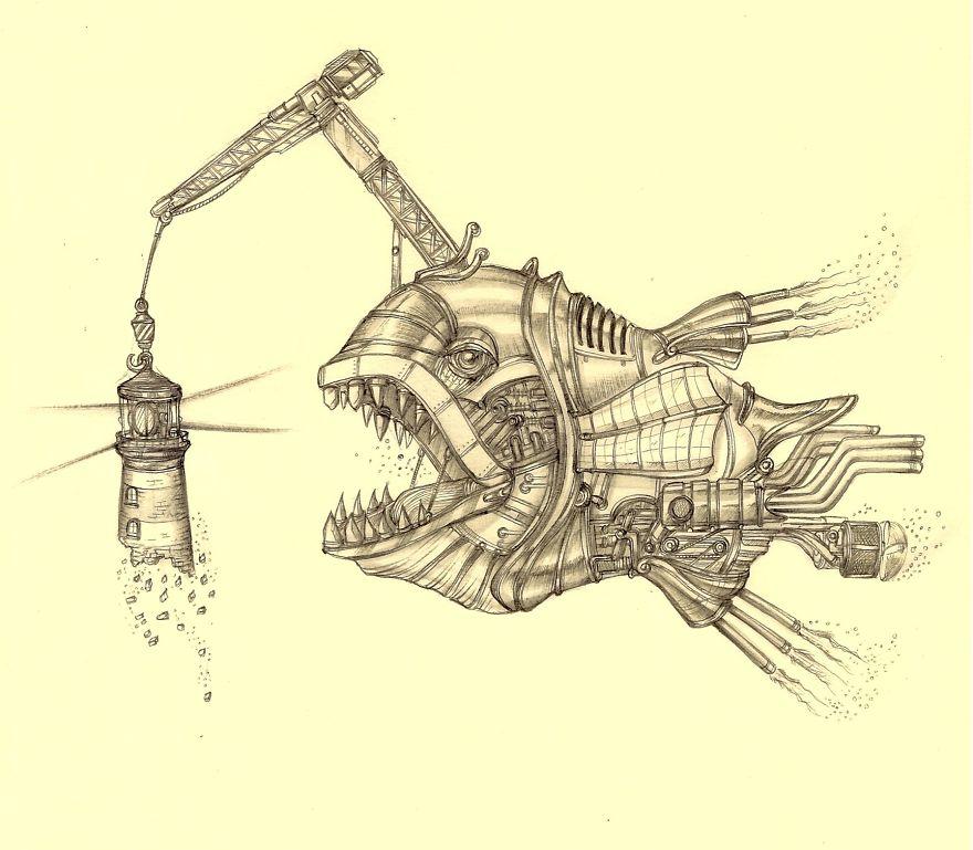 pez mecanico