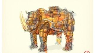 rinoceronte mecanico