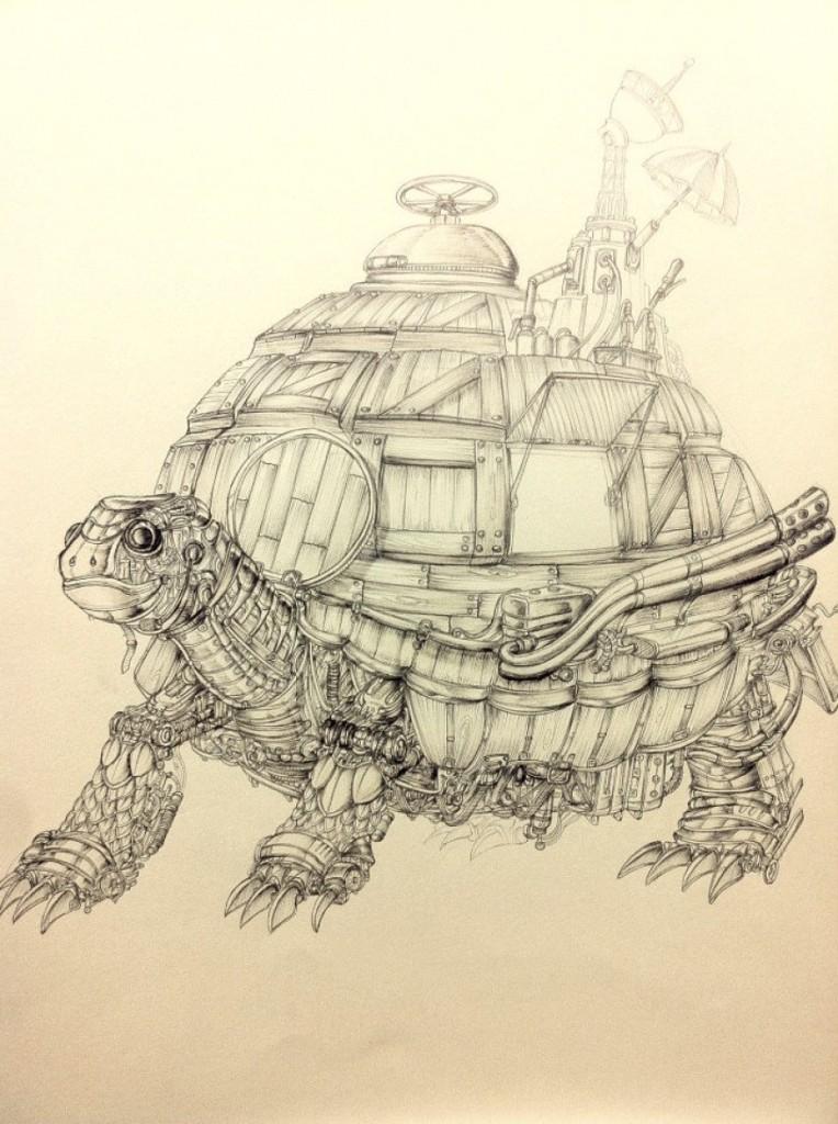 tortuga mecanica