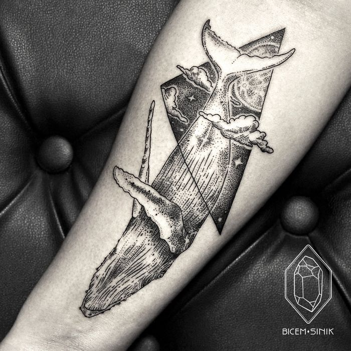 tatuaje ballena