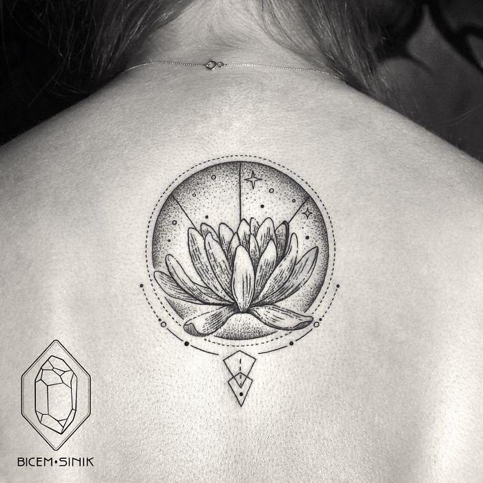 tatuaje flor