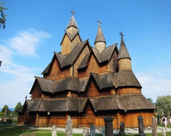 iglesia de heddal