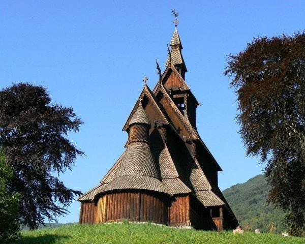 iglesia de hopperstad