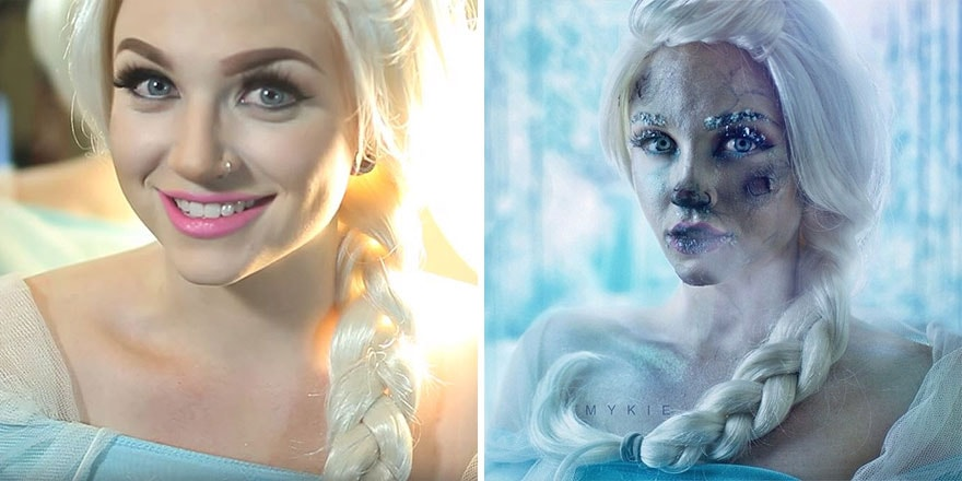 elsa version horror