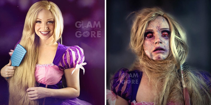 rapunzel version zombie